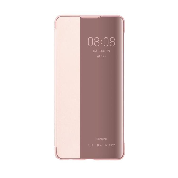 Puzdro originálne Smart View pre Huawei P30, Pink