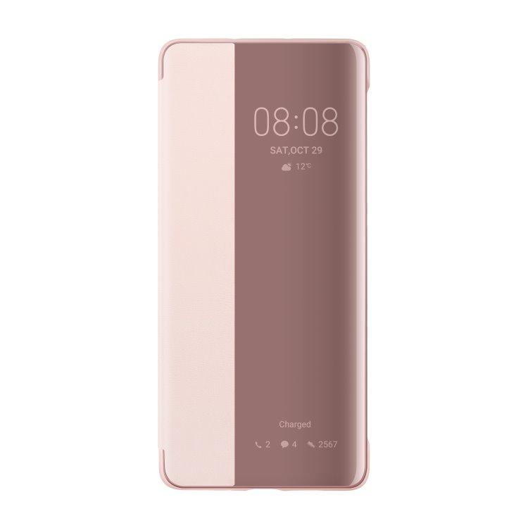 Puzdro originálne Smart View pre Huawei P30 Pro, Pink