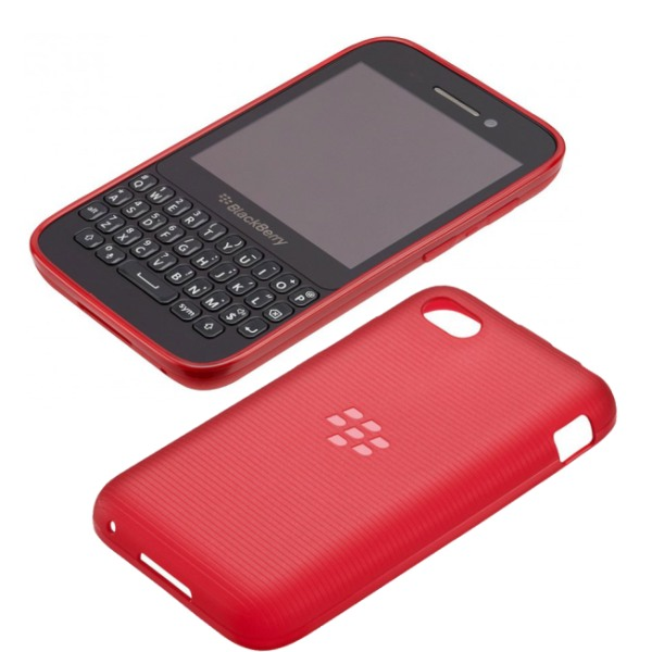 Puzdro origin�lne Soft Shell pre BlackBerry Q5, Red