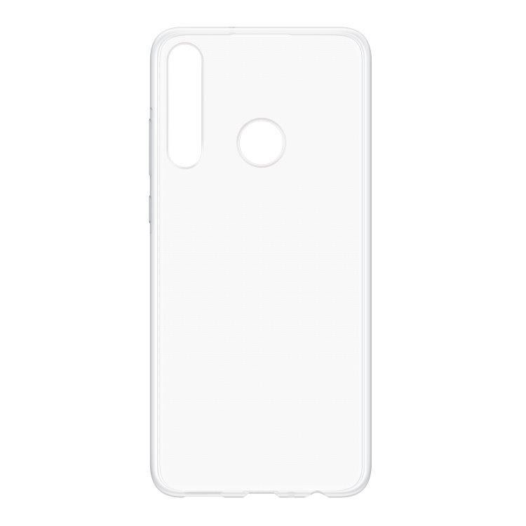 Puzdro originálne TPU Cover pre Huawei Y6p, Transparent