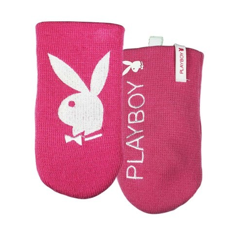 Puzdro PlayBoy - Sock Case with Strap - Pink / White
