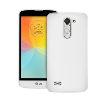 Puzdro Puro Ultra Slim pre LG L Bello - D331 a LG L Bello Dual - D335, Transparent + f�lia na displej