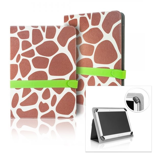 Puzdro QAC Fashion Belt pre Amazon Kindle Fire HD 7, motív Giraffe