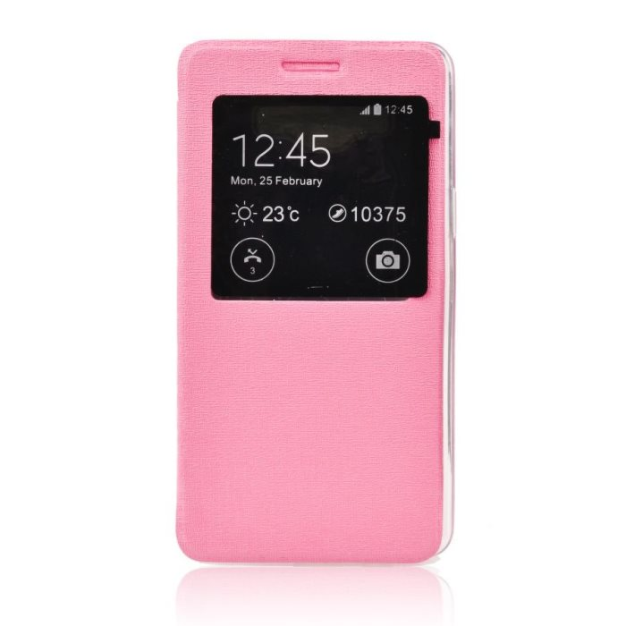 Puzdro S-View pre LG G4 - H815, Pink