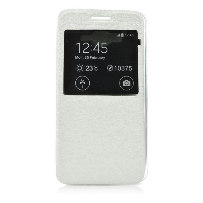 Puzdro S-VIEW pre Microsoft Lumia 640 a 640 LTE, White