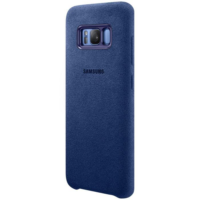 Puzdro Samsung Alcantara Cover EF-XG950A pre Samsung Galaxy S8 - G950F, Blue