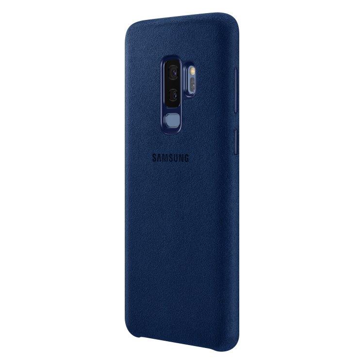5cab97d97 Puzdro Samsung Alcantara Cover EF-XG965A pre Samsung Galaxy S9 Plus -  G965F, Blue