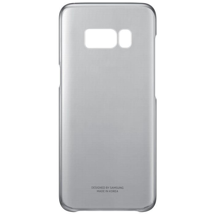 Puzdro Samsung Clear Cover EF-QG950C pre Samsung Galaxy S8 - G950F, Black