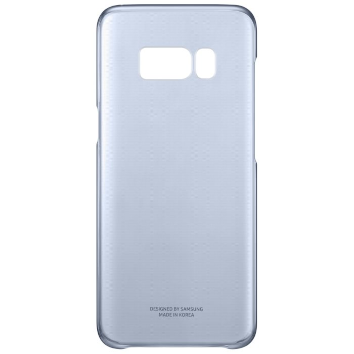 Puzdro Samsung Clear Cover EF-QG950C pre Samsung Galaxy S8 - G950F, Blue