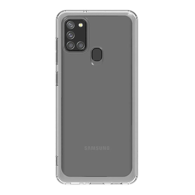 Puzdro Samsung Clear Cover GP-FPA217K pre Samsung Galaxy A21s - A217F, Transparent