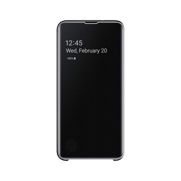 Puzdro Samsung Clear View Cover EF-ZG970CBE pre Samsung Galaxy S10e - G970F, Black