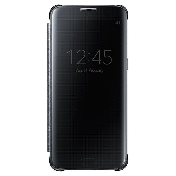 Puzdro Samsung Clear View EF-ZG935C pre Samsung Galaxy S7 Edge - G935F, Black