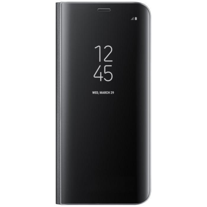 Puzdro Samsung Clear View EF-ZG955C pre Samsung Galaxy S8 Plus - G955F, Black