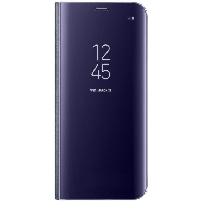 Puzdro Samsung Clear View EF-ZG955C pre Samsung Galaxy S8 Plus - G955F, Violet