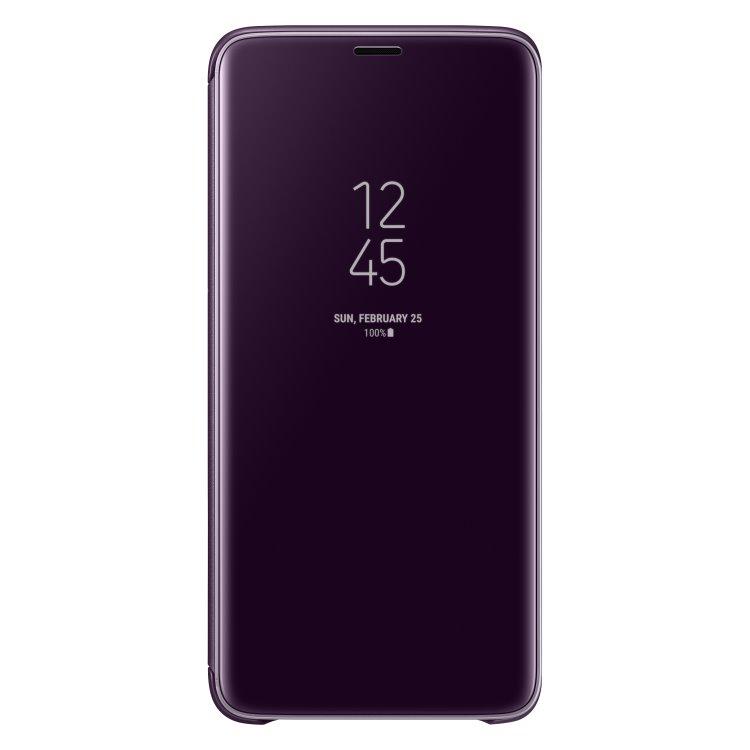 Puzdro Samsung Clear View Standing Cover EF-ZG965C pre Samsung Galaxy S9 Plus - G965F, Purple