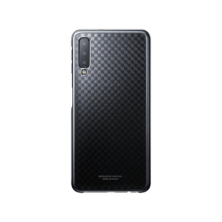 Puzdro Samsung Gradation EF-AA750C pre Samsung Galaxy A7 2018 - A750F, Black EF-AA750CBEGWW