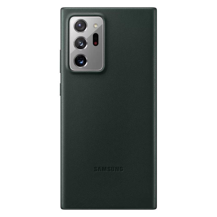 Puzdro Samsung Leather Cover pre Galaxy Note 20 Ultra 5G - N986B, green (EF-VN985LGE) EF-VN985LGEGEU