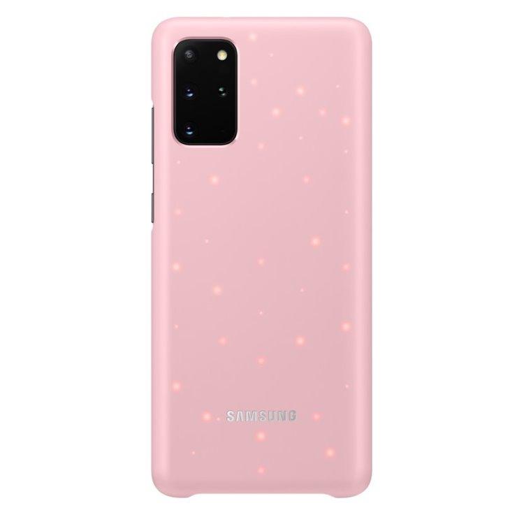 Puzdro Samsung LED Cover EF-KG985CPE pre Samsung Galaxy S20 Plus - G985F, Pink