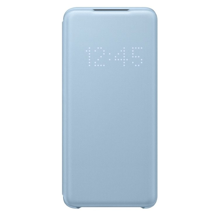 Puzdro Samsung LED View Cover EF-NG980PLE pre Samsung Galaxy S20 - G980F, Sky Blue