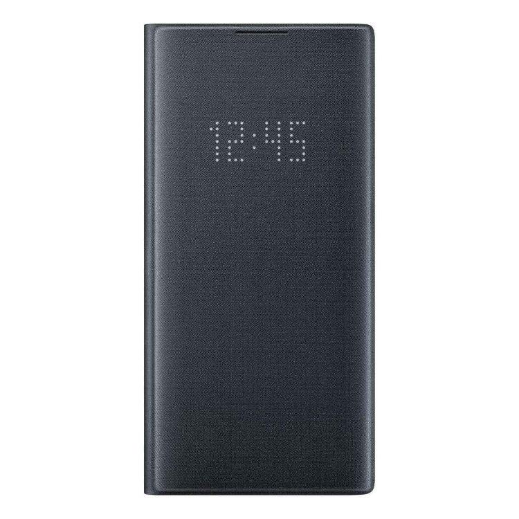 Puzdro Samsung LED View Cover EF-NN975PBE pre Samsung Galaxy Note 10 Plus - N975F, Black EF-NN975PBEGWW