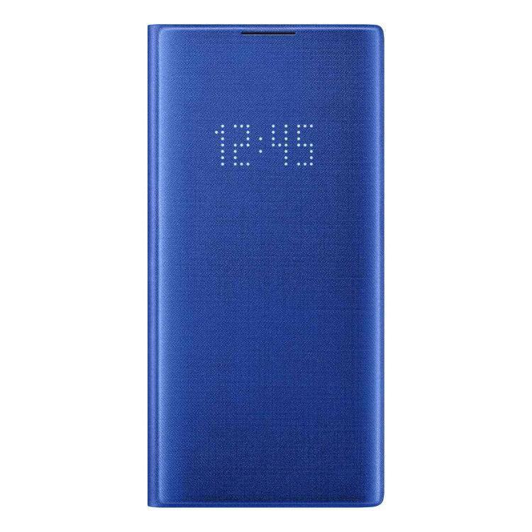 Puzdro Samsung LED View Cover EF-NN975PLE pre Samsung Galaxy Note 10 Plus - N975F, Blue EF-NN975PLEGWW