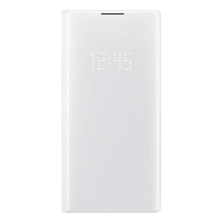 Puzdro Samsung LED View Cover EF-NN975PWE pre Samsung Galaxy Note 10 Plus - N975F, White EF-NN975PWEGWW