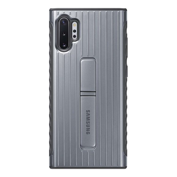 Puzdro Samsung Protective Standing Cover EF-RN975CSE pre Samsung Galaxy Note 10 Plus - N975F, Silver