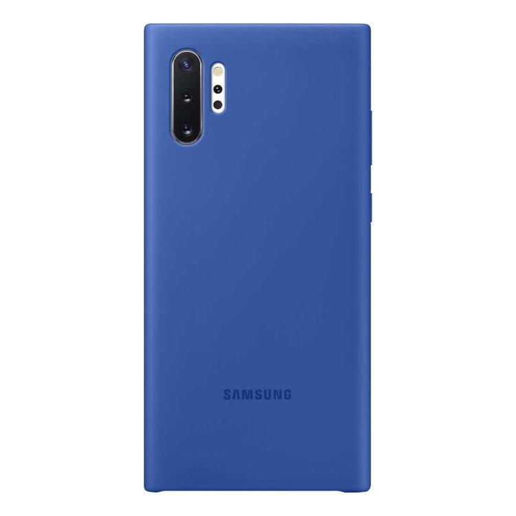 Puzdro Samsung Silicone Cover EF-PN975TLE pre Samsung Galaxy Note 10 Plus - N975F, Blue EF-PN975TLEGWW