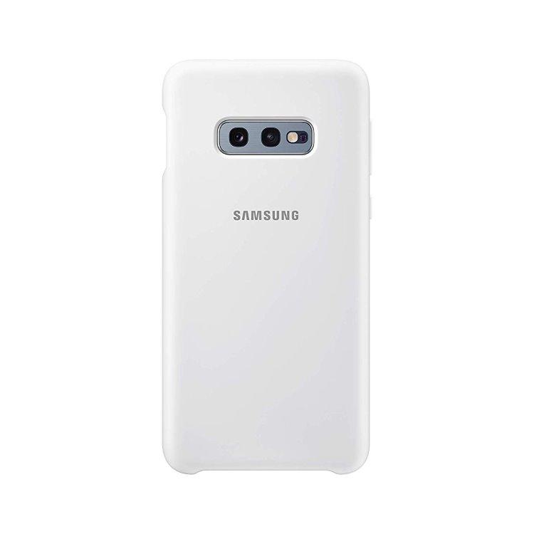 Puzdro Samsung Silicone Cover EF-PG970TWE pre Samsung Galaxy S10e - G973F, White