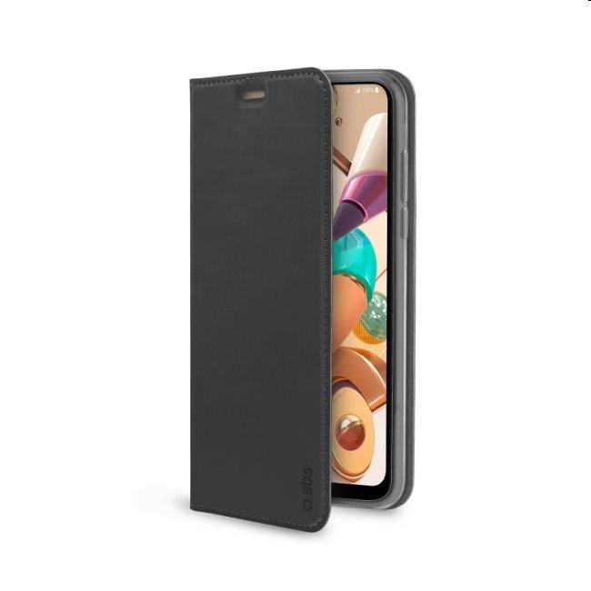 Puzdro SBS Book Wallet Lite pre LG K41S, čierne TEBKLITELGK41SK