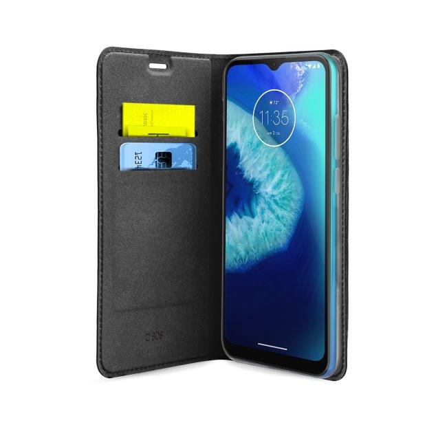 Puzdro SBS Book Wallet Lite pre Motorola Moto G8 Power Lite, čierne