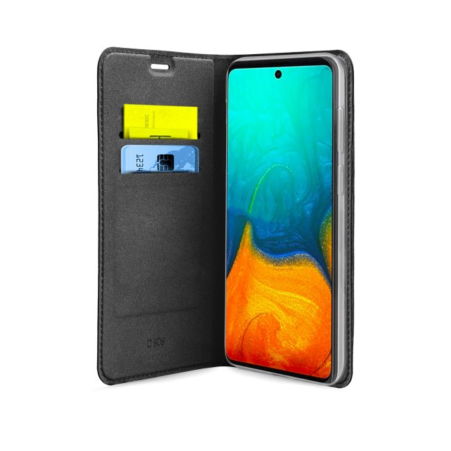Puzdro SBS Book Wallet Lite pre Samsung Galaxy A71 - A715F, black