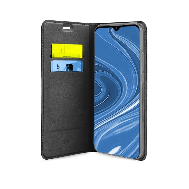 Puzdro SBS Book Wallet Lite pre Xiaomi Redmi 9, čierne
