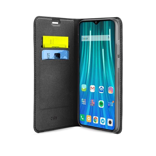 Puzdro SBS Book Wallet Lite pre Xiaomi Redmi Note 9 Pro, čierne