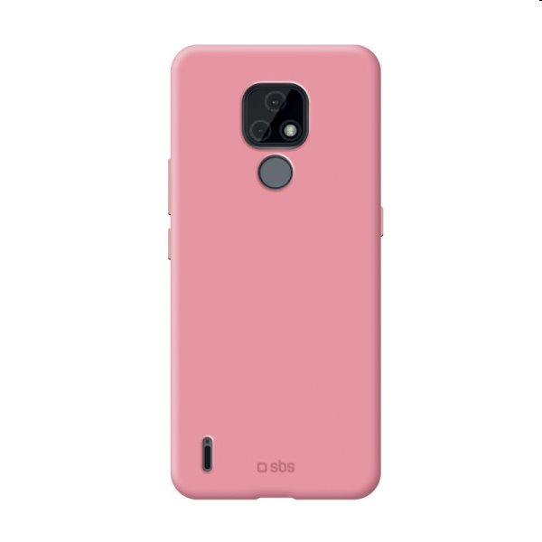 Puzdro SBS Sensity pre Motorola Moto E7, ružové TESENSMOE7P