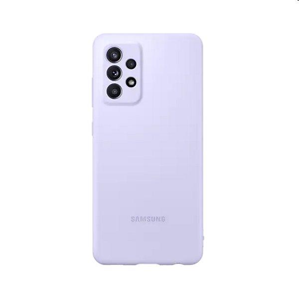 Puzdro Silicone Cover pre Samsung Galaxy A52 - A525F, purple (EF-PA525TV)