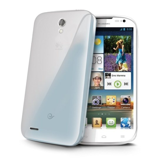 Puzdro silikonové Celly Premium GelSkin pre Huawei Ascend P7, Transparent