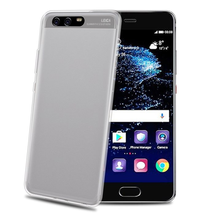 Puzdro silikonové Celly Premium GelSkin pre Huawei P10 Plus, Black
