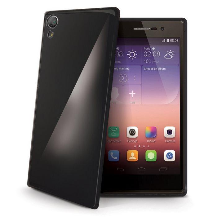 Puzdro silikonové Celly Premium GelSkin pre Huawei P8 Lite, Black