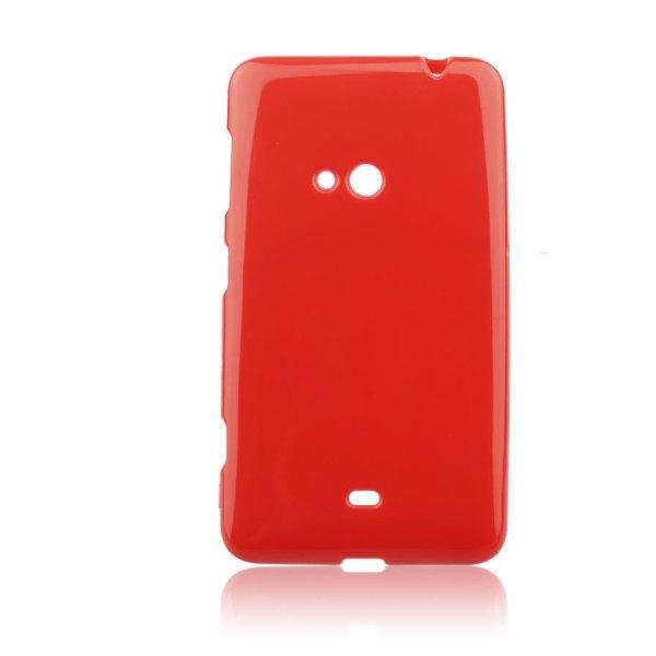 Puzdro silikonové Jelly Case pre Nokia Lumia 625, Red