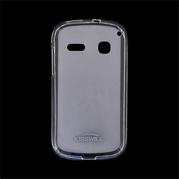 Puzdro silikonové Kisswill pre Alcatel One Touch Pop C3 - 4033D, Transparent