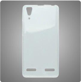 Puzdro silikonové pre Lenovo A6000 a A6010, Transparent