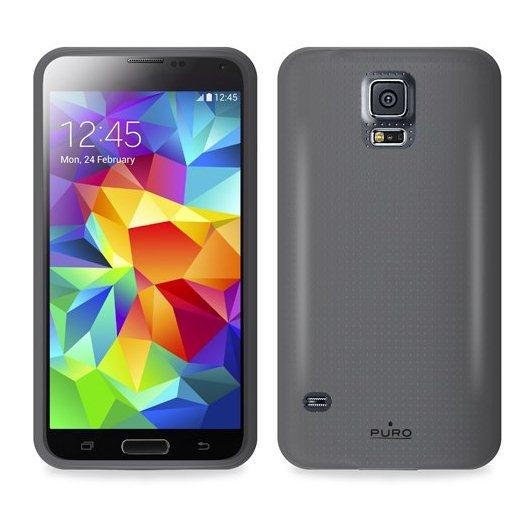 Puzdro silikonové PURO pre Samsung Galaxy S5 Mini - G800, Black