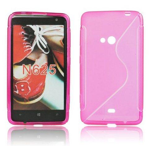Puzdro silikonové S-TYPE pre Nokia Lumia 630 a 635, Pink