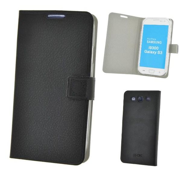 Puzdro Slim Fit pre Samsung Galaxy S3, Flash Black