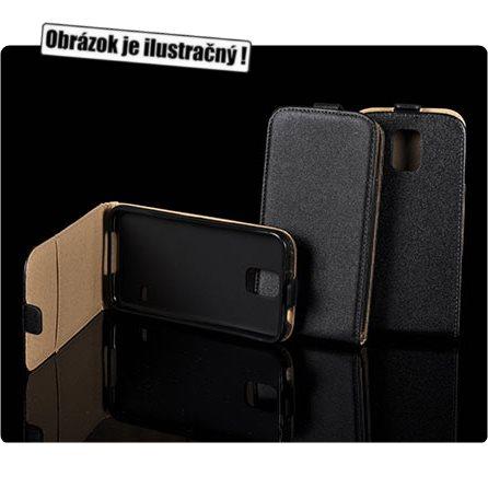 Puzdro Slim Flip 2 pre HTC ONE - E8, Black