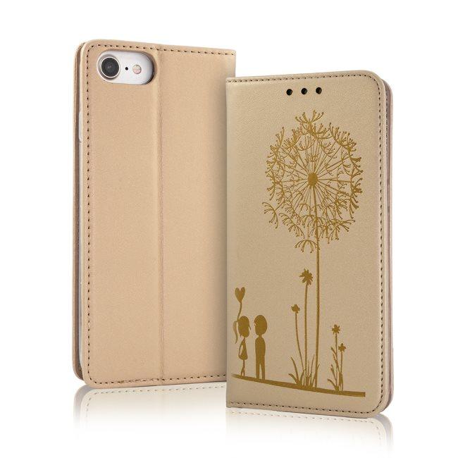 Puzdro Smart Love pre Huawei Y5II, Gold