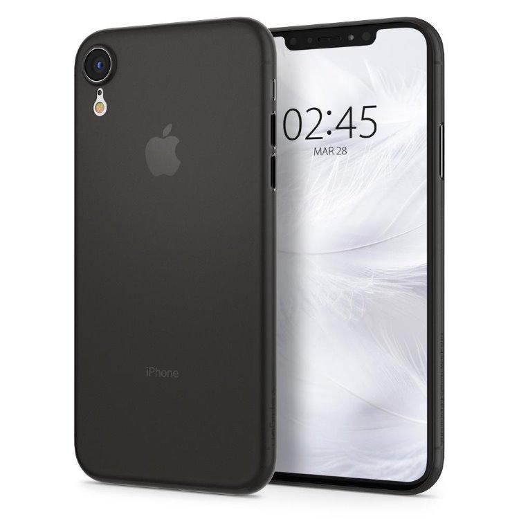 Púzdro Spigen Air Skin Apple iPhone XR – čierne
