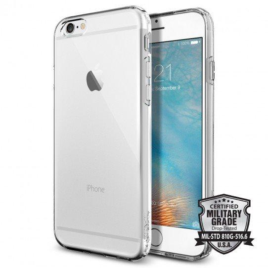 Puzdro Spigen Capsule pre Apple iPhone 6 a 6S, Crystal Clear SGP10940