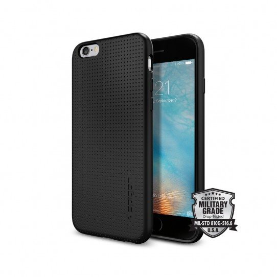 Puzdro Spigen Capsule pre Apple iPhone 6, Apple iPhone 6S, Black SGP11751
